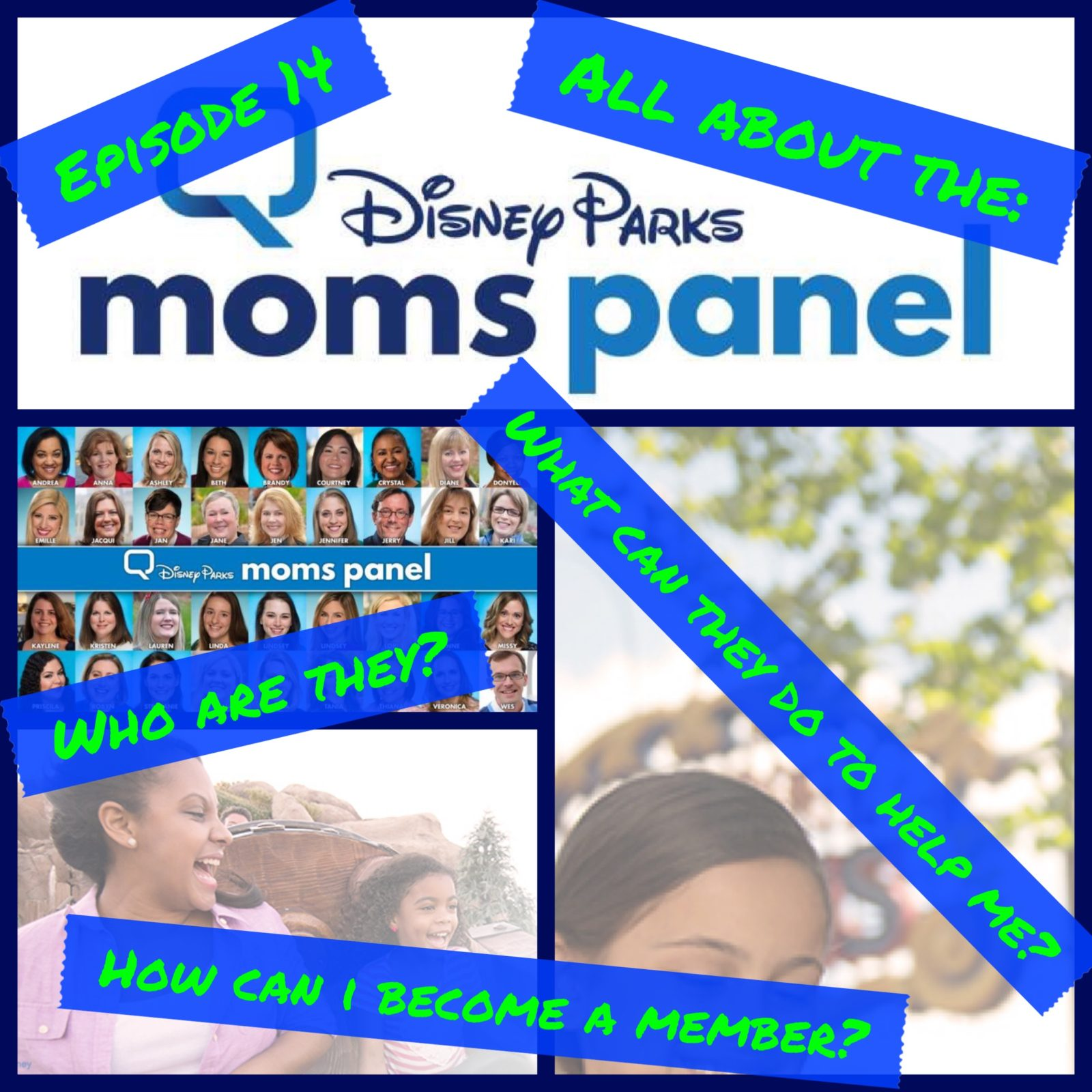 Episode 14 - All About the Disney Parks Moms Panel