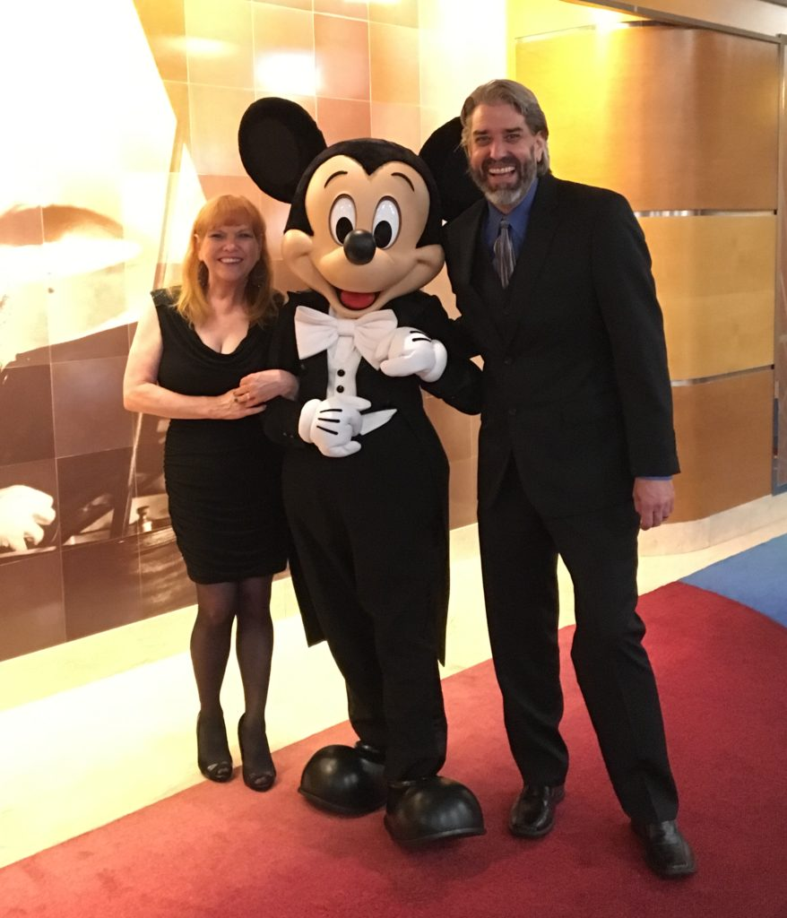 Mickey Mouse, Tom and Michelle