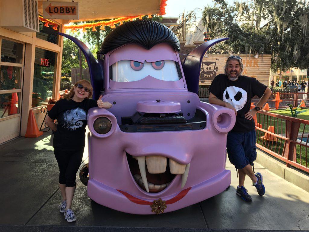 Tom, Michelle & Vampire Mater at the Disneyland Resort