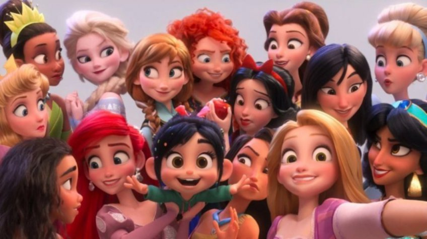 Ralph Breaks the Internet - Princesses