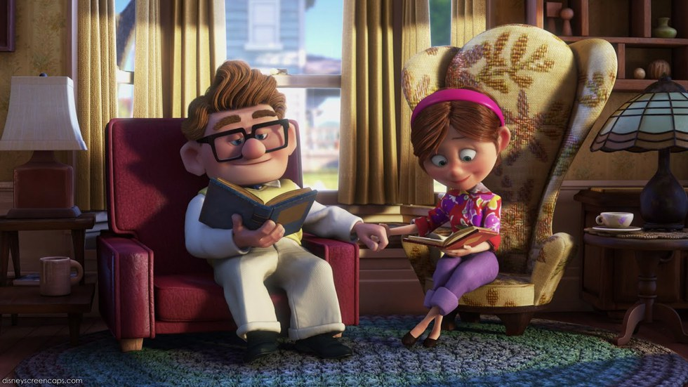 Carl and Ellie - Disney Couples