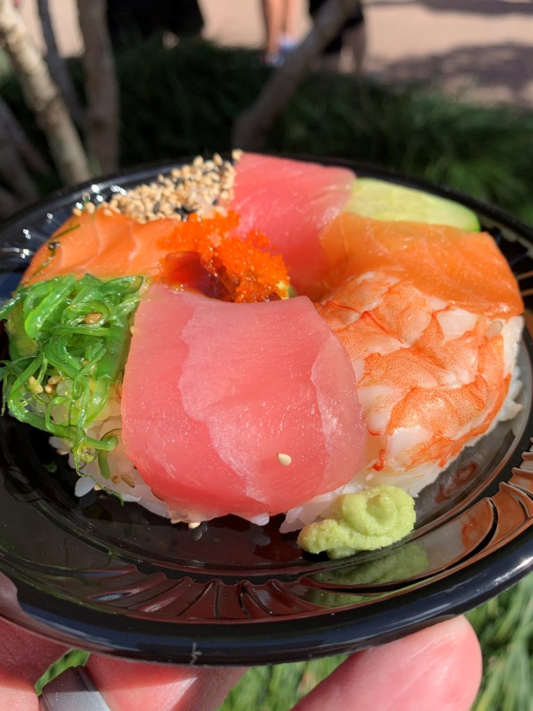 Sushi Donut - Festival of the Arts - Vacation