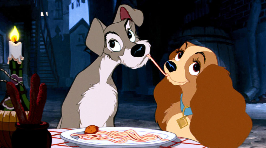 Lady and the Tramp - Disney Couples