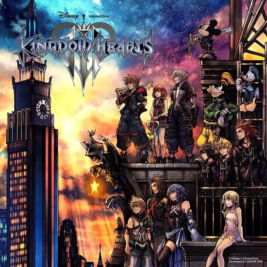Kingdom Hearts 3 Box Art - Kingdom Hearts