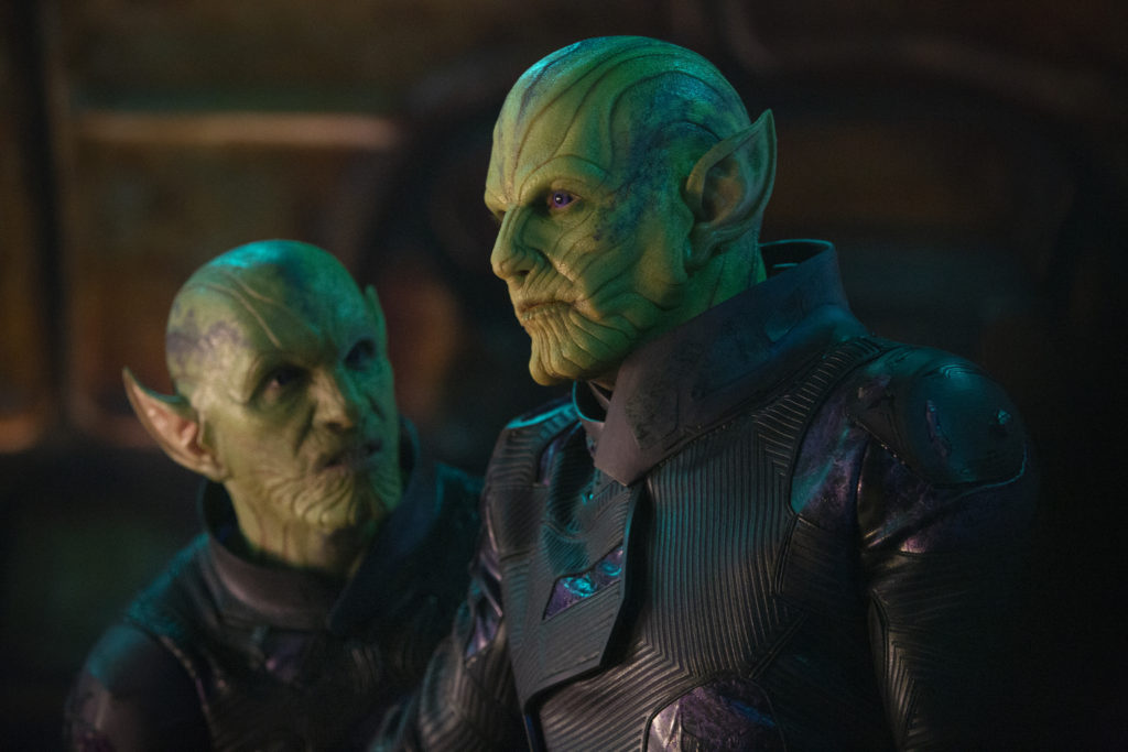 Captain Marvel - Skrulls