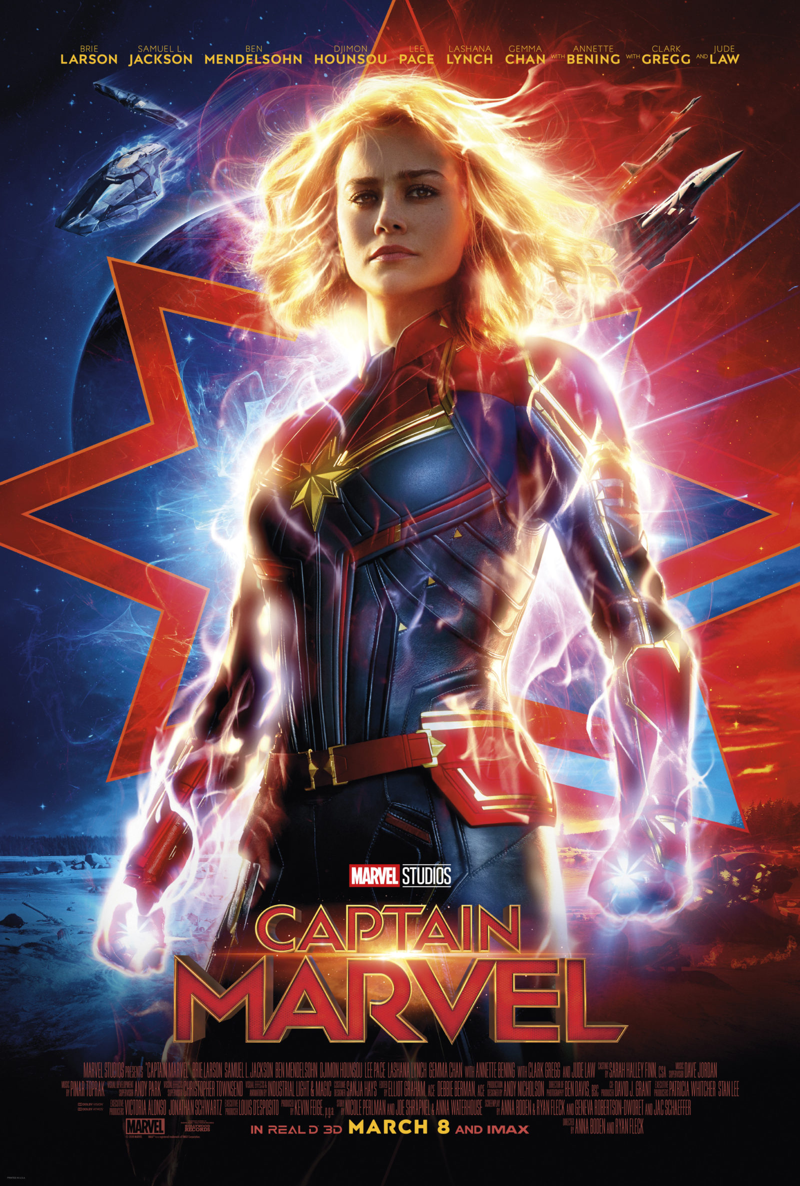 Captain Marvel - Title Poster