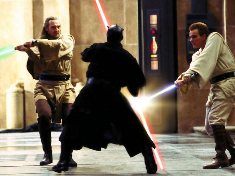 The Phantom Menace - Duel