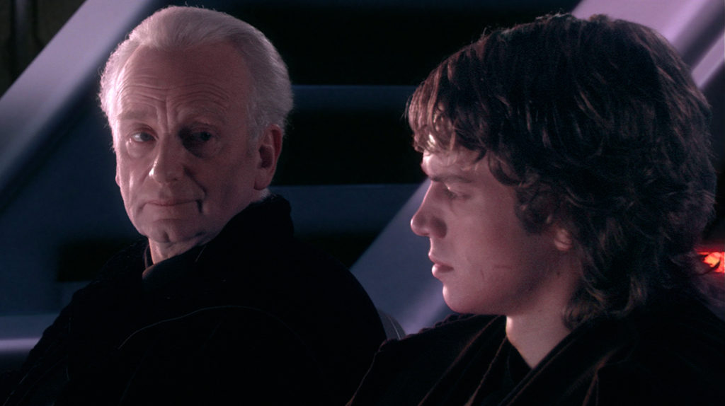 Revenge of the Sith - Anakin and Palpatine