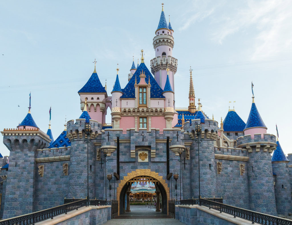 Sleeping Beauty Castle - Enovated