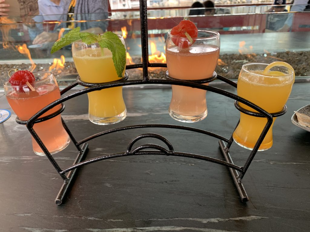 Mimosa Flight - Lamplight Lounge Brunch - Disney California Adventure Park