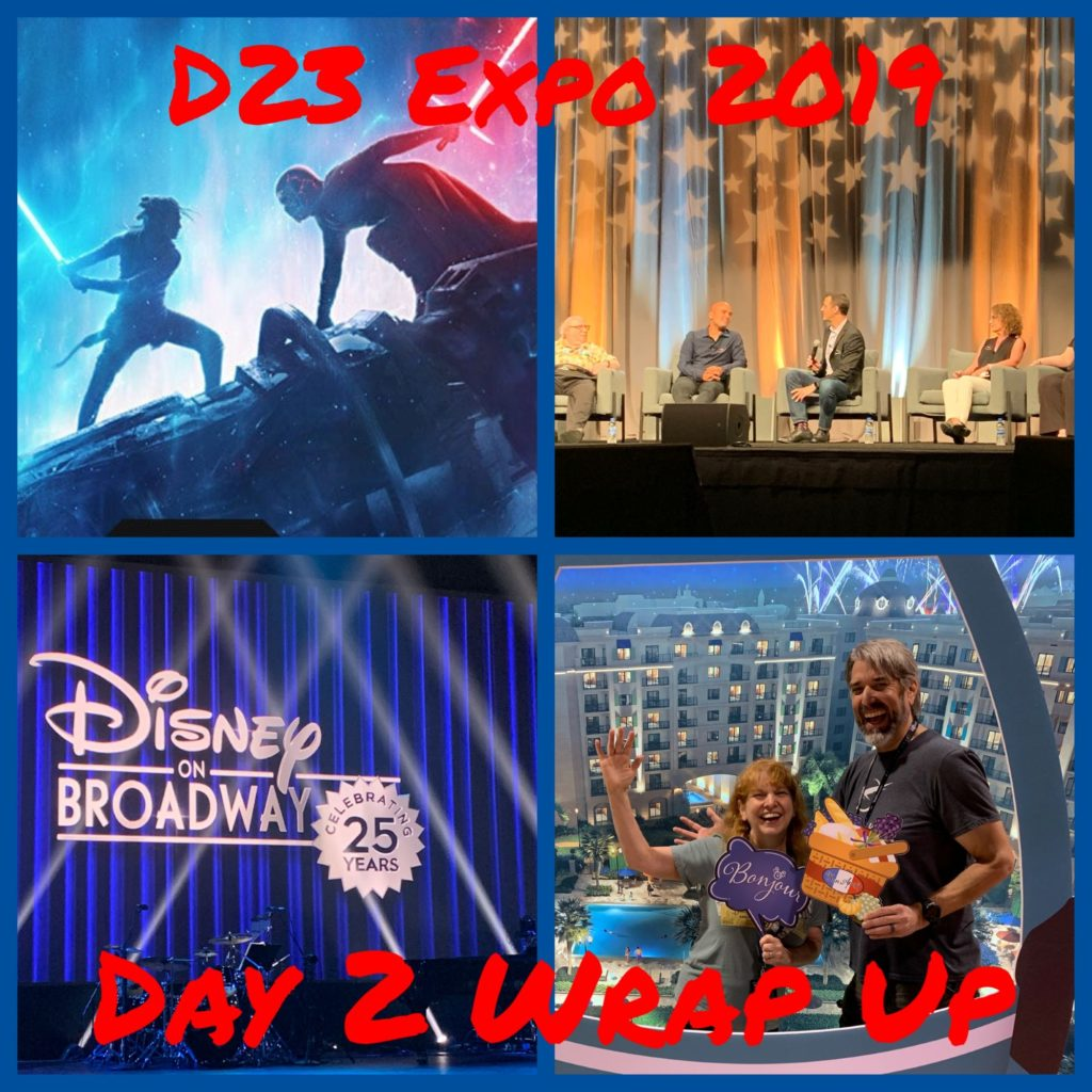 D23 Expo 2019 - Day 2 Wrap Up