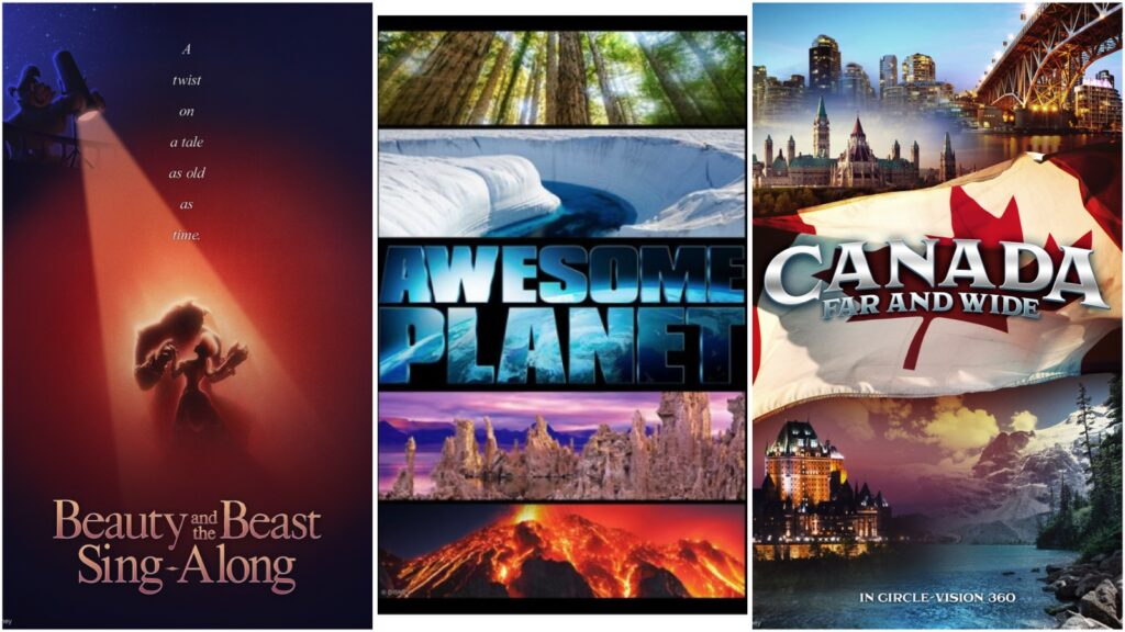 New Epcot Films - New Disney Experiences